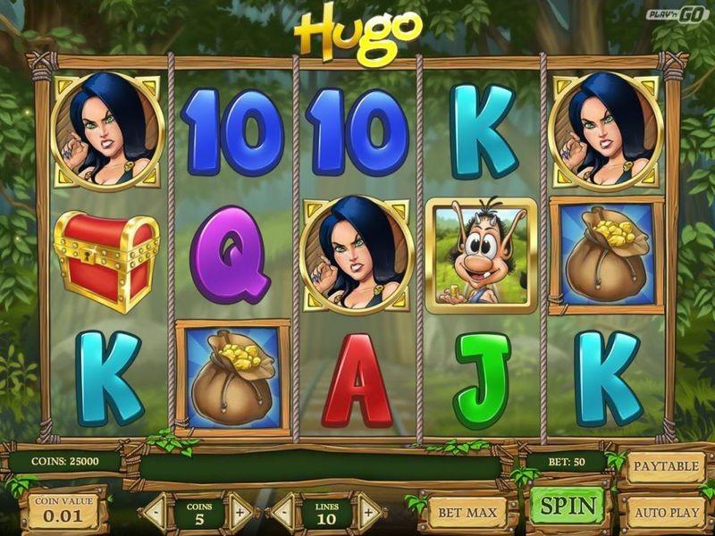 Hugo Online Spielen: Genießen Sie Den Zauberwald Und Finden Sie Gold